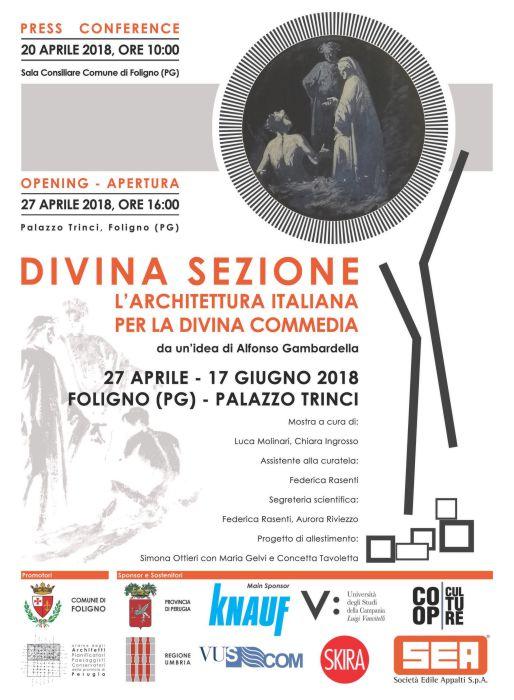 VUSCOM SPONSOR DELLA DIVINA SEZIONE. L'ARCHITETTURA ITALIANA PER LA DIVINA COMMEDIA