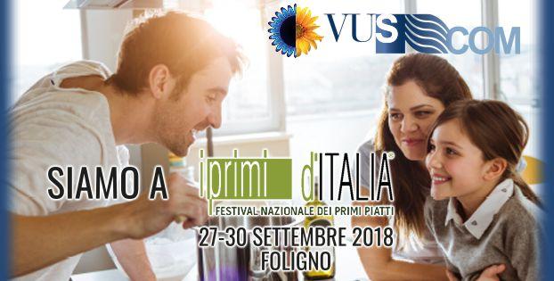 Vus Com presente alla XX Edizione di Primi d'Italia, siamo in Piazza della Repubblica